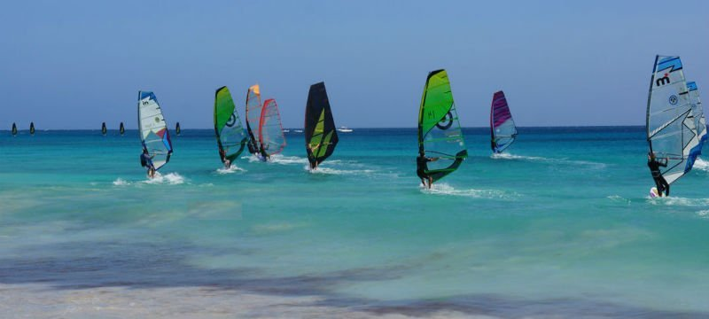 windsurfen sal