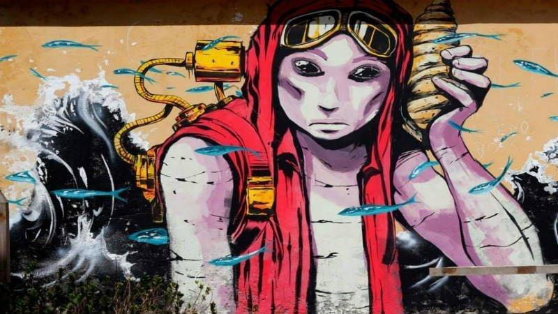 Street art kaapverdie